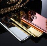 Alta calidad lujosa protector lleno de 360 grados para el iPhone 6s para la caja del teléfono de la parte posterior del espejo del caso del iPhone 7 para el iPhone de Apple
