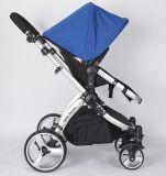 Прогулочная коляска младенца 360 колес степени вращая