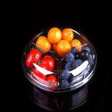 Rectángulo disponible transparente de las verduras frescas de la Secundario-Red del rectángulo tres de la ensalada de fruta