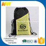 Förderungdrawstring-Beutel des Polyester-210d mit seitlicher Tasche