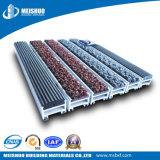 Stuoia di alluminio commerciale dell'entrata di controllo delle polveri