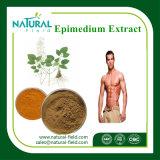 Poudre d'Icariin d'extrait d'Epimedium d'approvisionnement de constructeur