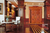 Нутряные деревянные входные двери