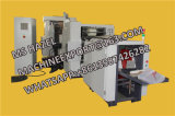 Bolsa de papel que hace la máquina con la impresora de Flexo de 2 colores en línea