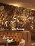 [موردن] يعيش غرفة وقت فراغ أريكة فندق جلد أريكة خشبيّة