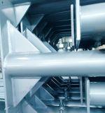 Polvo estándar americano cubierto o poste del apuntalamiento del andamio del HDG/pierna del puente