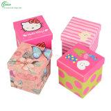 Подгонянные коробки подарка квадрата печатание бумажные для упаковки Apple (KG-PX077)