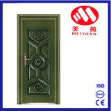 Porta de aço da segurança da entrada de cobre da porta do metal