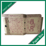 Коробка изготовленный на заказ еды бумажная для упаковывать пиццы