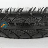 Rotelle di gomma della carriola con il reticolo di gioco del calcio (2.50-4)