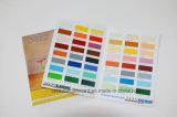 Brochure lustrée pliée personnalisée de peinture pour la publicité