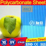 Таможня красит полый лист толя поликарбоната с UV предохранением