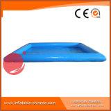 Piscine gonflable bleue carrée de l'eau T10-015