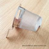 ハンドルが付いている熱い販売のステンレス鋼の茶マグのこし器