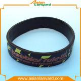 Wristband de borracha do silicone do projeto barato