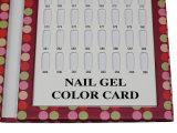 Инструмент ногтя, индикация искусствоа ногтя, карточка цвета геля ногтя