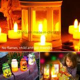 Heißer Verkauf batteriebetriebenes Flickery flammenloses LED Tee-Licht für Großverkauf