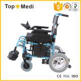 접히는 리튬 건전지 전동기 강화된 휠체어