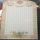 Vidrio de cristal/laminado impreso modificado para requisitos particulares/vidrio manchado/vidrio decorativo con estilo del jardín de la aldea