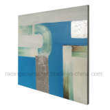 Impression fabriquée à la main d'art abstrait de peinture sur la toile pour la décoration de salle de séjour