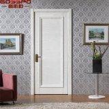 Porte de panneau en bois de peinture de cerise solide simple blanche de lame (GSP2-105)