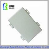 La pintura de aluminio exterior del revestimiento de madera de pared interior artesona el alto fabricante del panel de Quanlity
