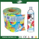 Ярлык мнущей пленки для крышки бутылки воды с печатание