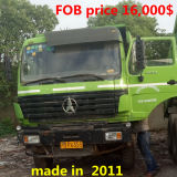 Beiben는 10 톤 트럭을 사용했다
