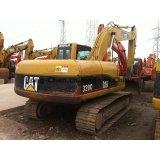 Excavador usado de la correa eslabonada de la oruga 320c del excavador del gato 320c