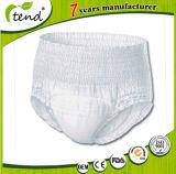 Bester Nachtwegwerfincontinence-Hosen-Unterwäsche-Erwachsener ziehen Windel-Zug auf Windeln hoch