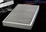 50mm dik 495mm X 495mm de Commerciële Filter van de Honingraat voor Luifel Rangehood