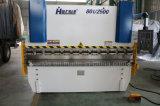 Presse hydraulique inoxidable de commande numérique par ordinateur de la machine à cintrer Wc67k de plaque de tôle d'acier en métal du système de régulation E21