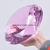 diamant en cristal de grande taille du presse-papiers K9 de 200mm pour le métier de souvenir