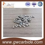 O carboneto de tungstênio viu as pontas Yg6 K10 para a estaca de madeira