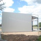 Entrepôt de mémoire préfabriqué de structure métallique avec le coût bas