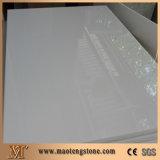 Белая искусственная Nano выкристаллизовыванная стеклянная каменная панель