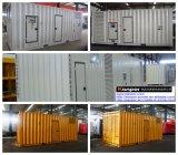 Pés silenciosos do gerador 313kVA-3000kVA 50Hz 60Hz de Kanpor Kpmt Sereis os 20 Containerized Genset Diesel psto pelo MTU alemão