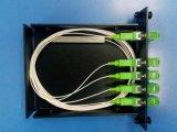 diviseur d'AP Lgx de fibre optique de 1X 4 Sc/LC/St/FC