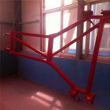 Élévateur matériel de double cage de Ss100/100 1ton pour la construction