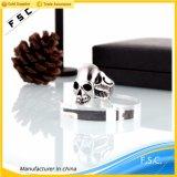 최신 판매 새로운 도착 스테인리스 남녀 공통 두개골 쏘시개 나무 반지