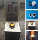 Horno de alta frecuencia de la forja de la inducción para el equipo de fusión del oro