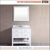 Première vanité moderne de marbre T9223-36W de salle de bains