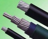 Низкий кабель для воздушных линий напряжения тока изолированный XLPE надземный