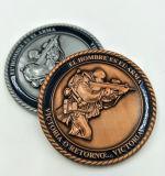 주문을 받아서 만들어진 아연 합금은 던지기 도전 동전을 정지한다