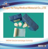 熱い販売人の綿の医学ドレッシングのPrecutガーゼの包帯