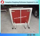 L'étape en aluminium de performance, étape simple en aluminium, aluminium structure l'étape
