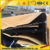 Profil en aluminium d'extrusion de fente de T personnalisé par constructeur en aluminium