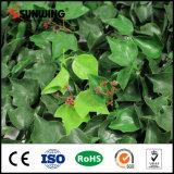 Оптовое напольное искусственное уединение ограничивает искусственную загородку ПЛЮЩА травы