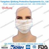 使い捨て可能なヘッドバンドの非編まれた外科マスクの医学の微粒子のマスク