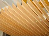 Plafond en aluminium des graines d'égoutture en bois de l'eau pour la décoration extérieure